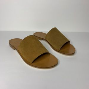 Johnny Was Camilla sandals camel new in box